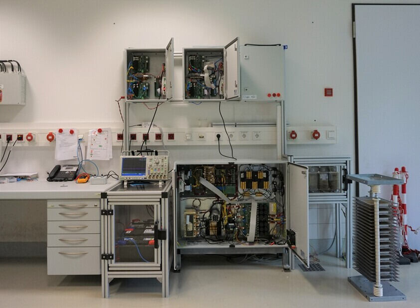 DC microgrid for research and control testing