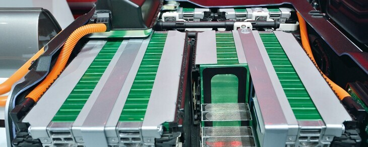 Lithium Ion Batteries for on-board systems, hybrid and electric vehicles